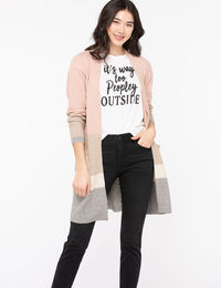 Soft Open Front Duster Cardigan