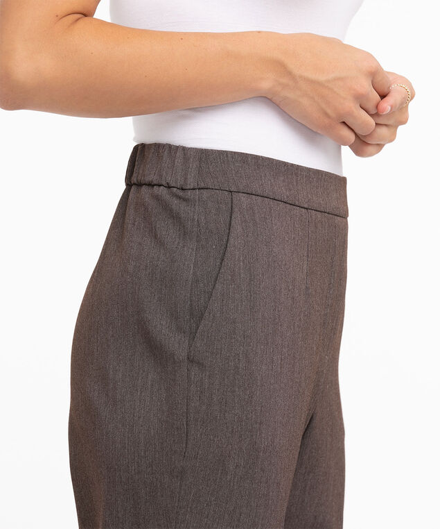 Eco-Friendly Tapered Leg Pant, Seal Brown