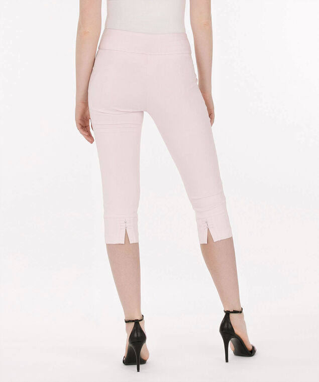 Microtwill Pull-On Capri, Cameo Pink, hi-res