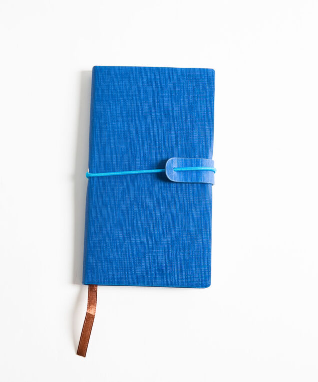 Small Planner Notebook, Blue, hi-res