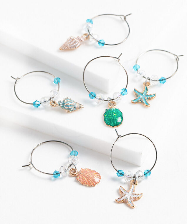 Ocean Drink Charms, Assorted