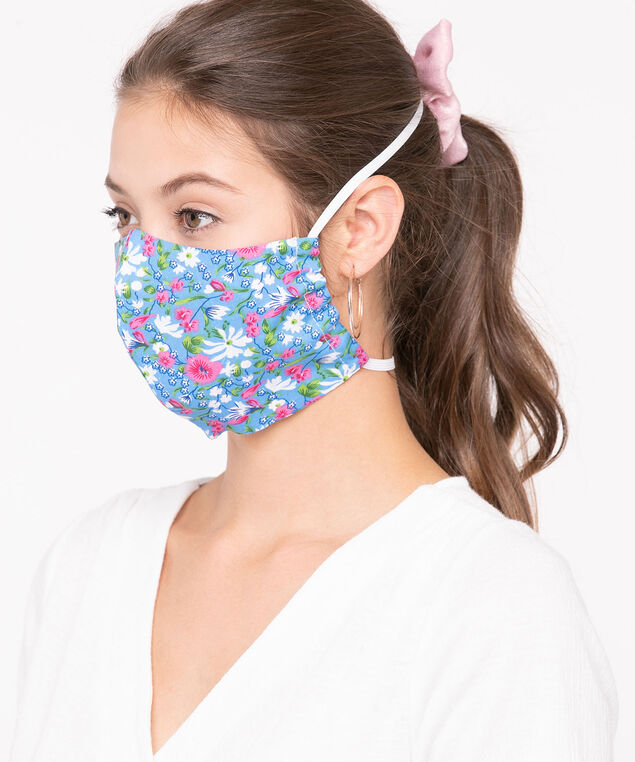 2 Pack of Face Masks, Pink/Pearl/Blue/Sage, hi-res