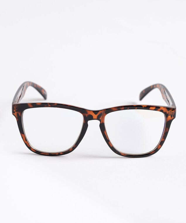 Tortoise Shell Blue Light Glasses, Brown/Black Tortoise