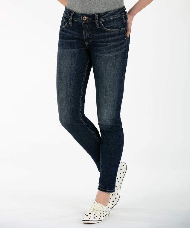 Silver Jeans Co. Suki Skinny Jean, Dark Wash, hi-res
