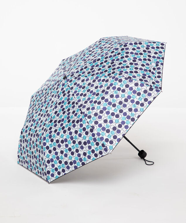 Blue Polka Dot Umbrella, Blue Bell Dot