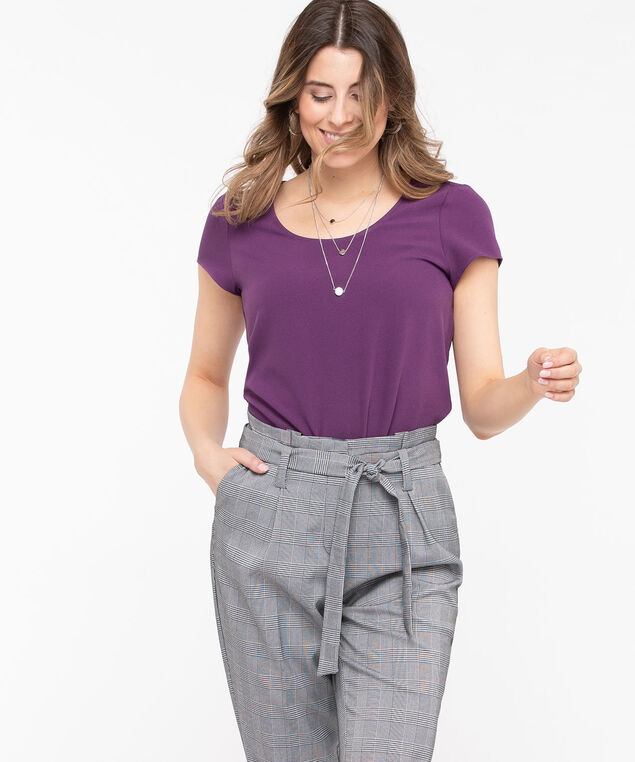 The Everyday Blouse, Purple, hi-res