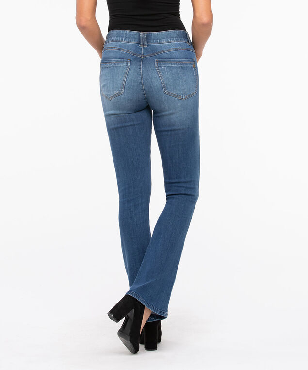 "Democracy ""Ab""solution Itty Bitty Bootcut Jean, Dark Blue, hi-res"