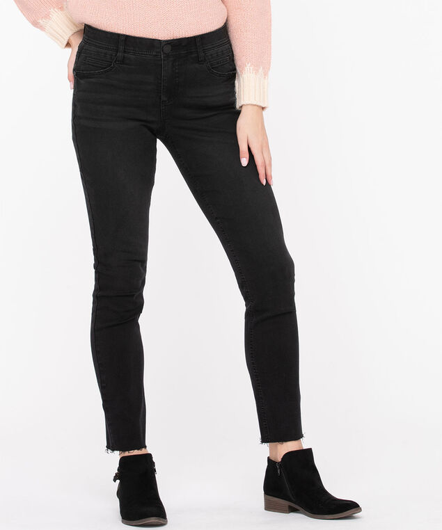 "Democracy ""Ab""solution Washed Black Skinny, Washed Black"
