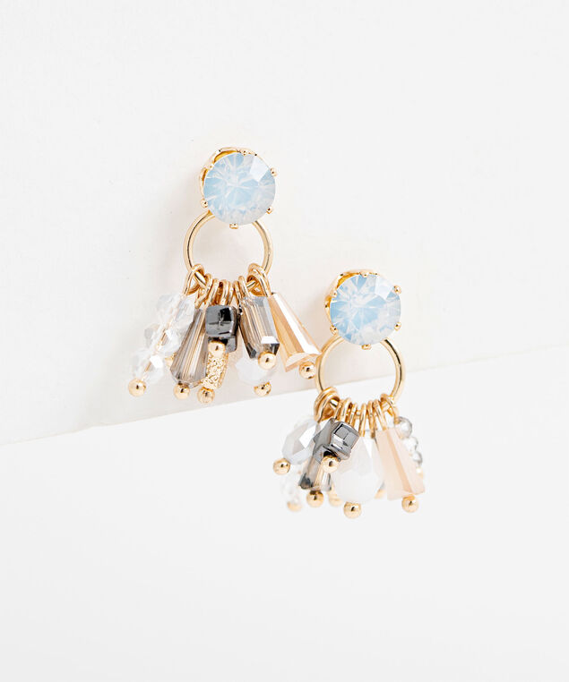Antique Beaded Earring, Gold