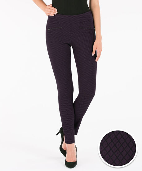 Microtwill Slim Leg, Purple/Black, hi-res