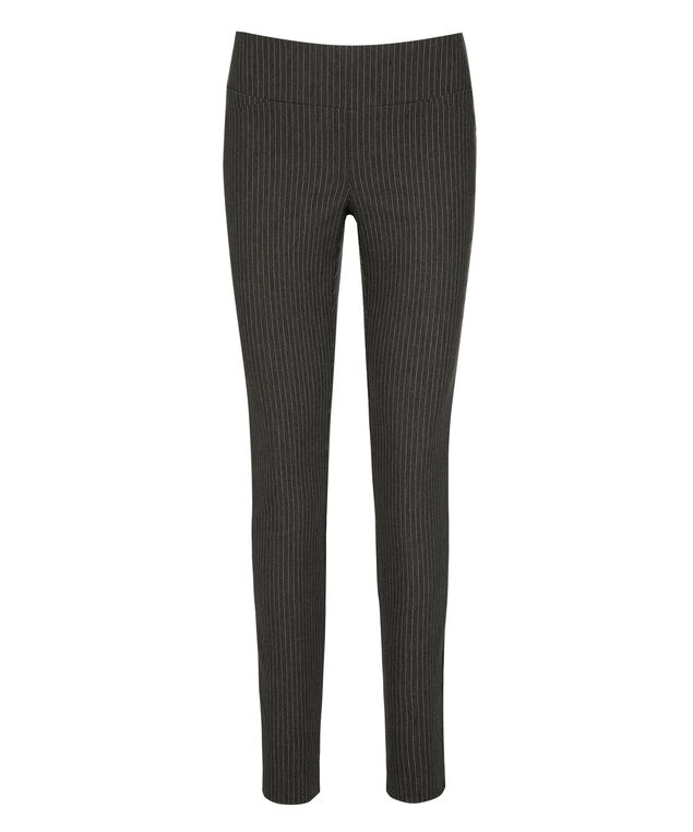 Microtwill Super Slim Leg, Charcoal/White Stripe, hi-res