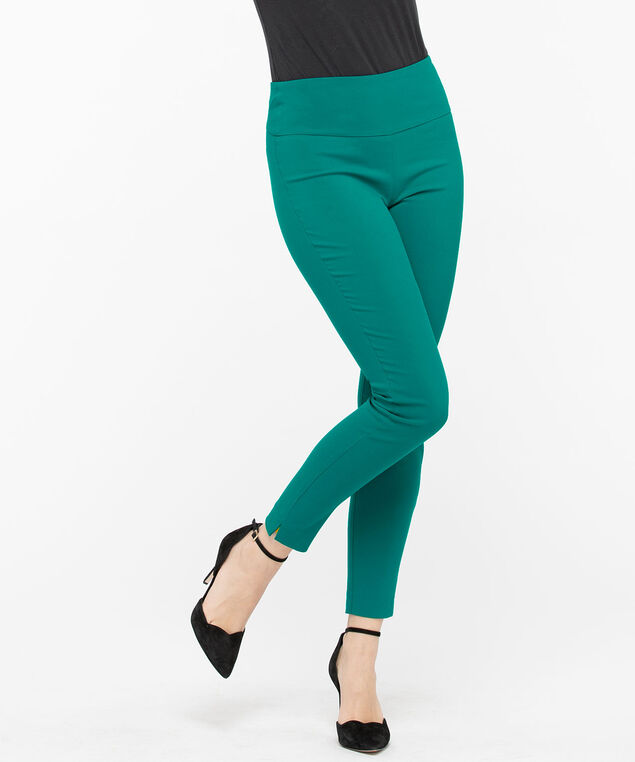 Microtwill High Rise Super Slim - Ankle, Jade, hi-res