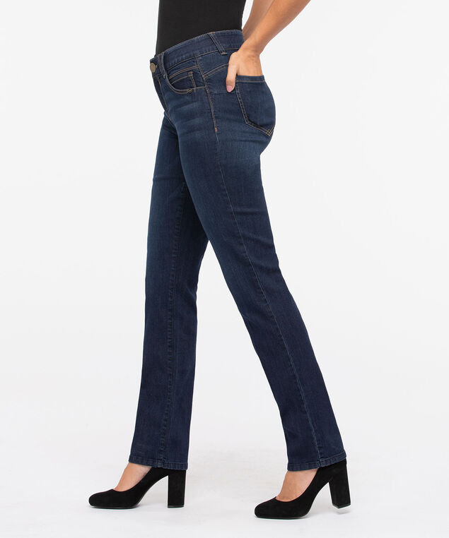 "Democracy ""AB""solution Straight Leg Jean, Dark Blue"