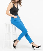 Microtwill Fly Front Ankle Pant, Azure, hi-res