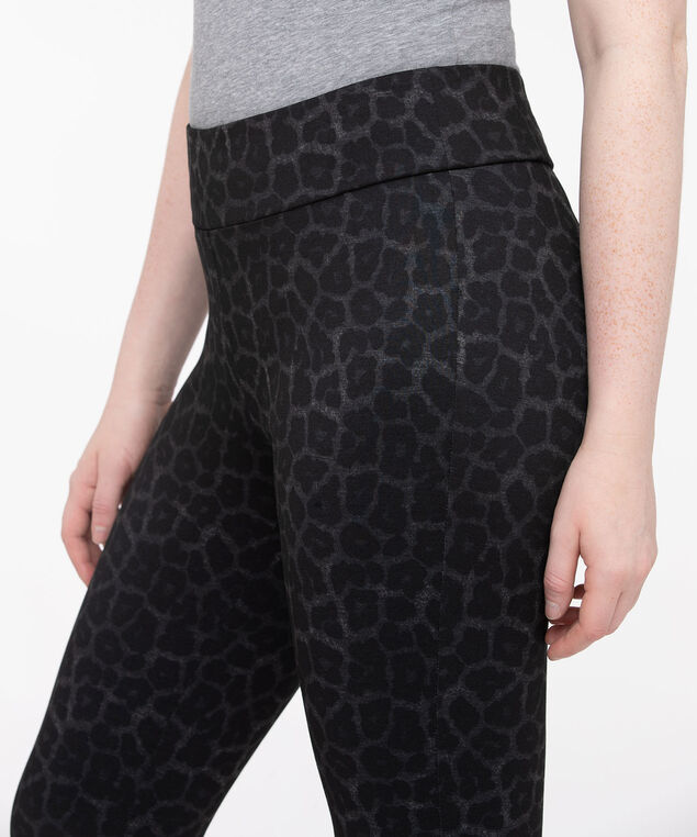 Animal Print Legging, Charcoal/Black, hi-res