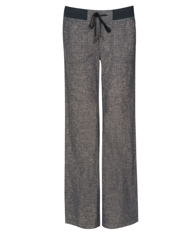 Relaxed Knit Linen Pant, , hi-res