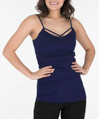 Strappy Criss-Cross Cami, Deep Sapphire, hi-res