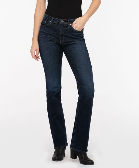 Silver Jeans Co. Calley Super High Rise Bootcut, Dark Wash, hi-res