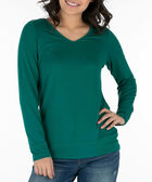 Open Bow-Tie Back Pullover, Emerald, hi-res