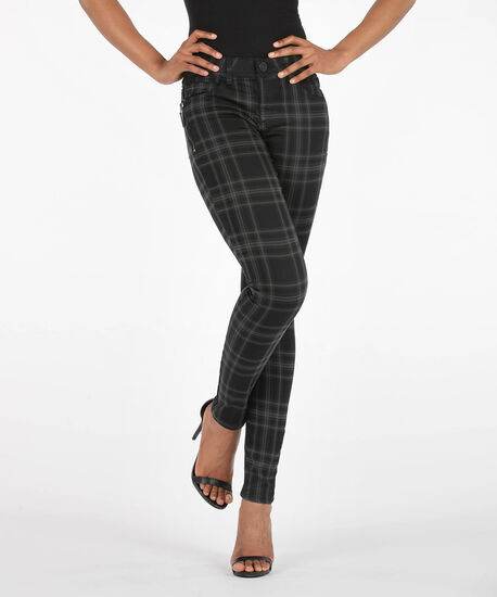 "Democracy ""Ab""Solution Booty Lift Jegging, Black/Charcoal, hi-res"