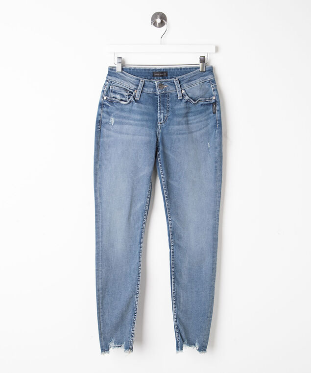 Silver Jeans Co. Suki Skinny Leg, Mid Wash, hi-res