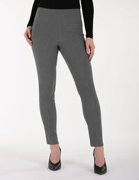 Microtwill High Rise Ankle Pant