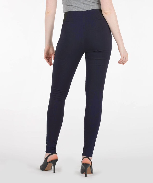 Microtwill Super Slim Leg, Navy, hi-res