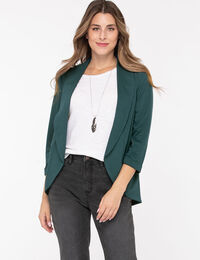 Terry Shawl Collar Cover Up