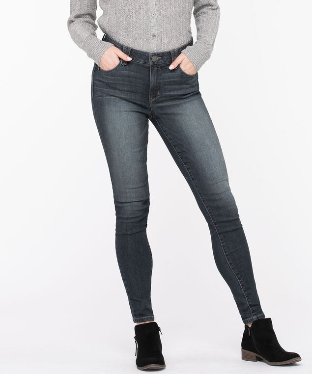 "Democracy ""Ab""solution High Rise Jegging, Dark Wash, hi-res"