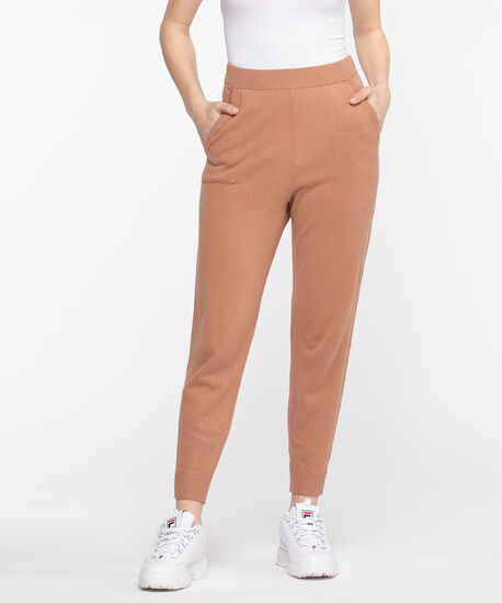 Sweater Knit Pull-On Jogger, Mocha Mousse, hi-res