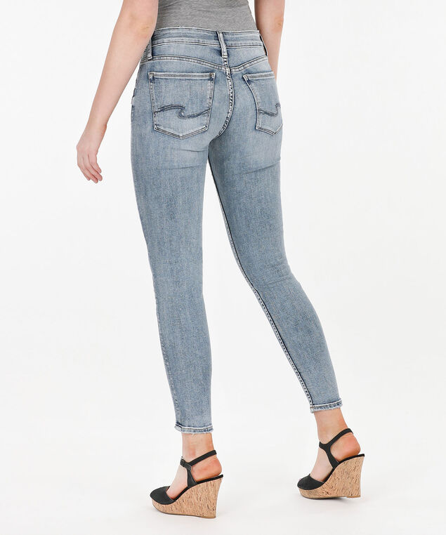 Silver Jeans Co. Avery High Rise Skinny, Light Wash, hi-res