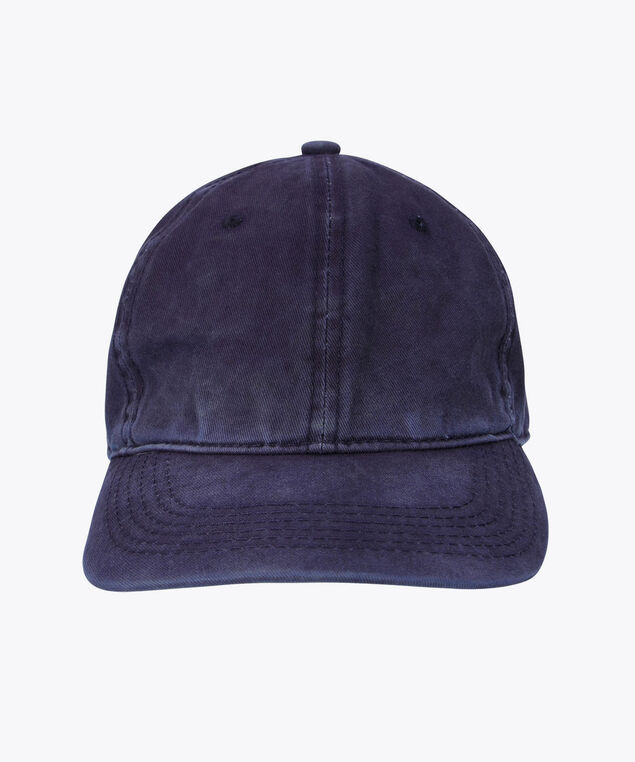 Distressed Baseball Cap, Navy, hi-res