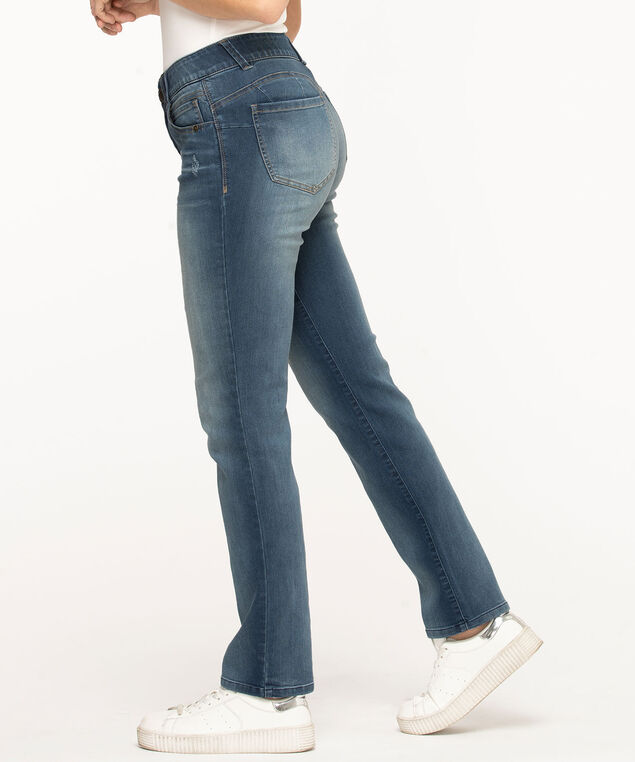 "Democracy ""Ab""solution Straight Leg Jean, Mid Wash"