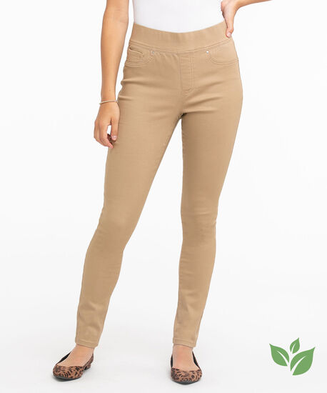 Eco-Friendly Pull-On Jegging, Silver Mink, hi-res
