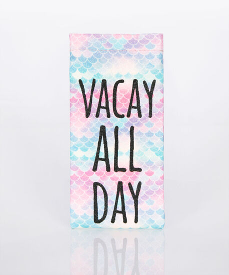 Vacay All Day Sunglass Case, Pink/Tropical Teal/Black, hi-res