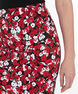 Floral Graphic Microtwill Pencil Skirt, Poppy/Black/Pearl, hi-res