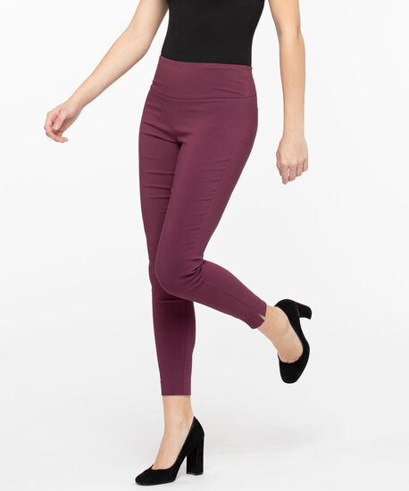 Microtwill High Rise Super Slim - Ankle, Fig, hi-res
