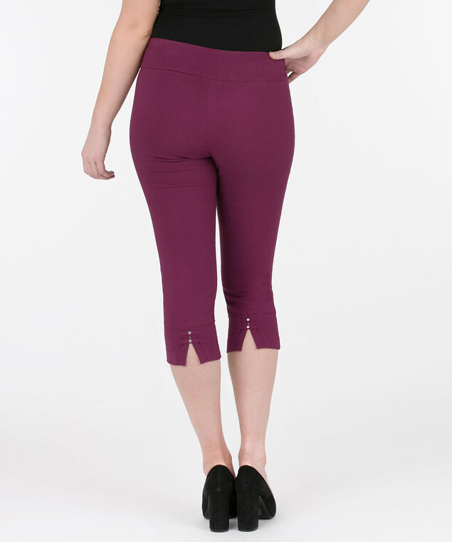 Microtwill Back Tab Capri, Black Cherry, hi-res