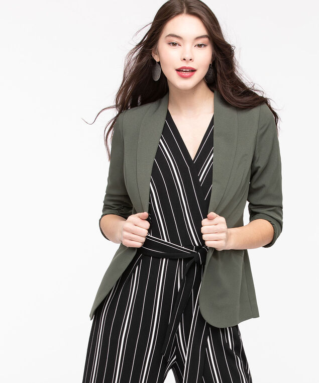 Easy Stretch Open Blazer, Basil, hi-res