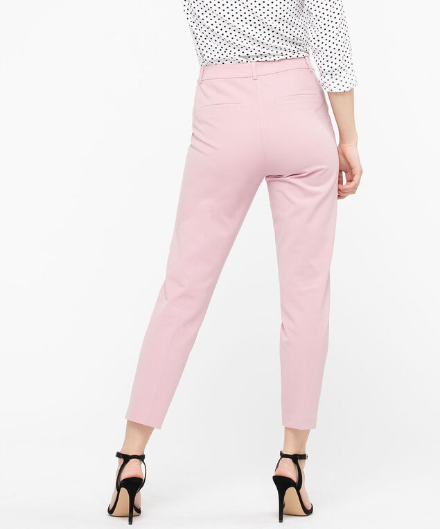 High Rise Slim Ankle Pant, Blush, hi-res
