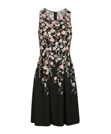 Sleeveless Floral Print Dress by Ricki's
