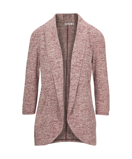Shawl Collar Cardigan, Wine, hi-res