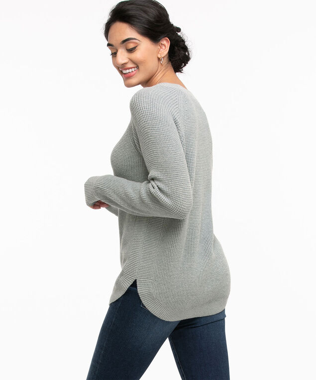 Waffle Stitch Pullover, Tapestry