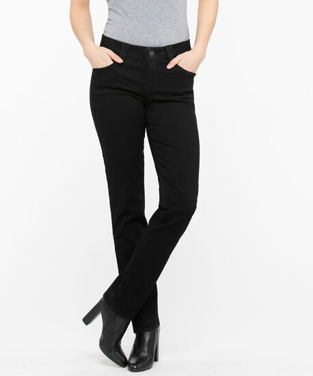"Democracy ""AB""solution Straight Leg Jean, Black, hi-res"