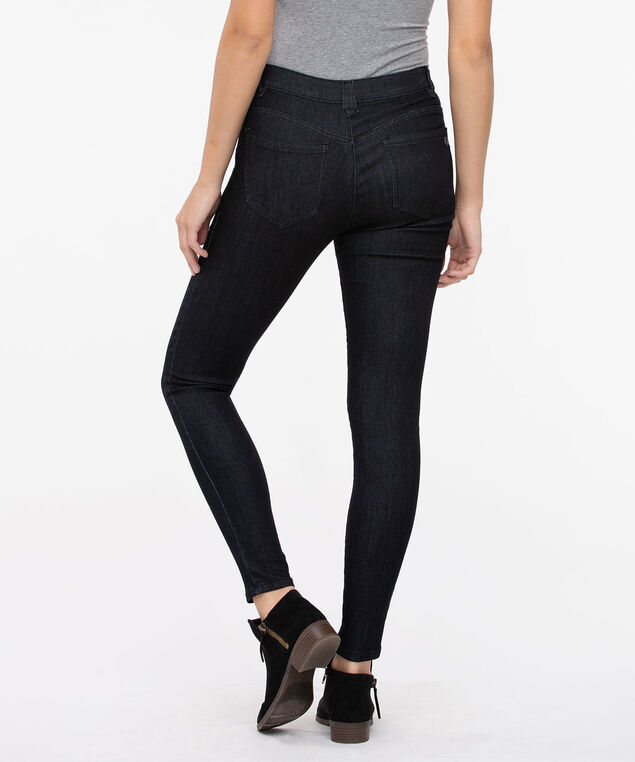 "Democracy ""Ab""solution High Rise Booty Lift Jegging, Dark Blue, hi-res"