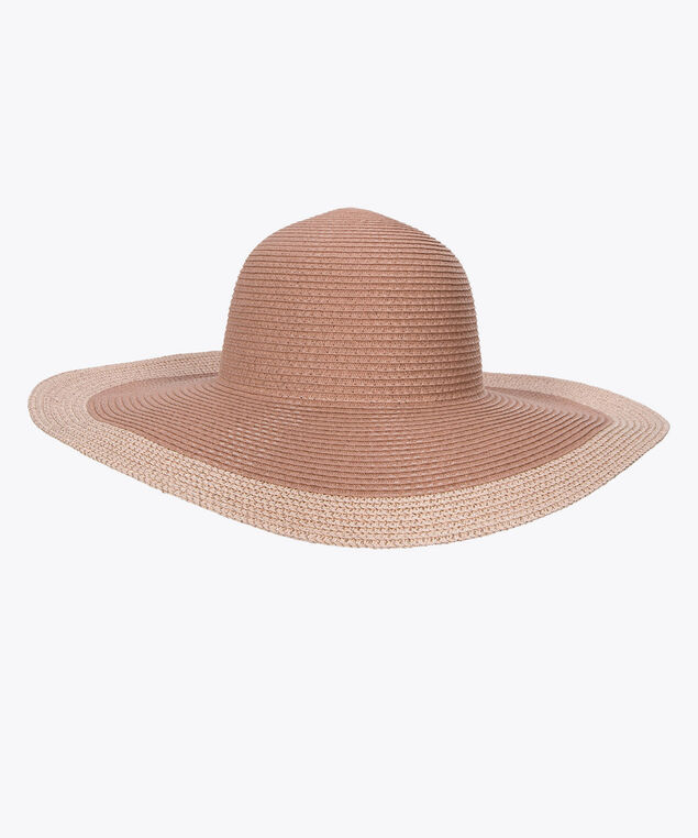 Woven Sun Hat, Rose/Peach, hi-res