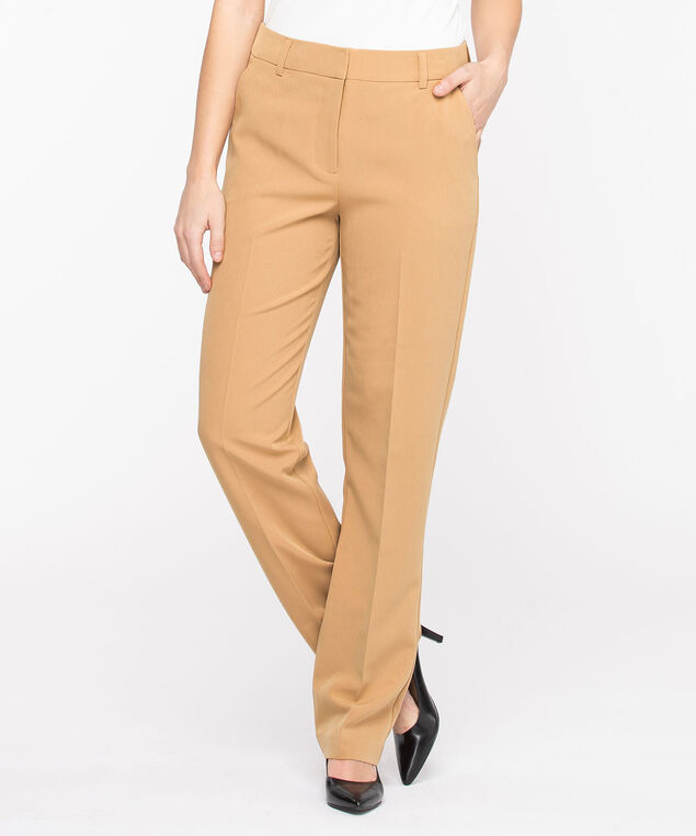 Slash Pocket Straight Leg Pant, Burro
