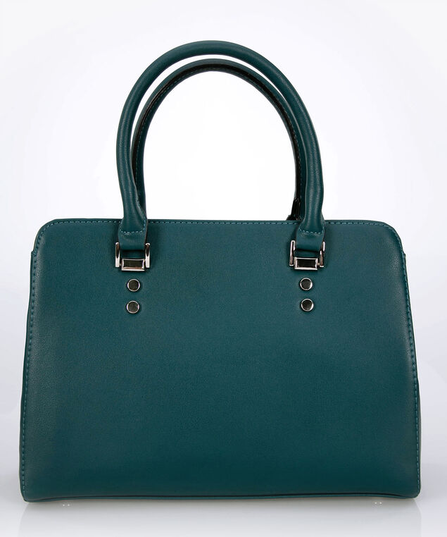 Top Handle Satchel, Ivy/Rhodium, hi-res