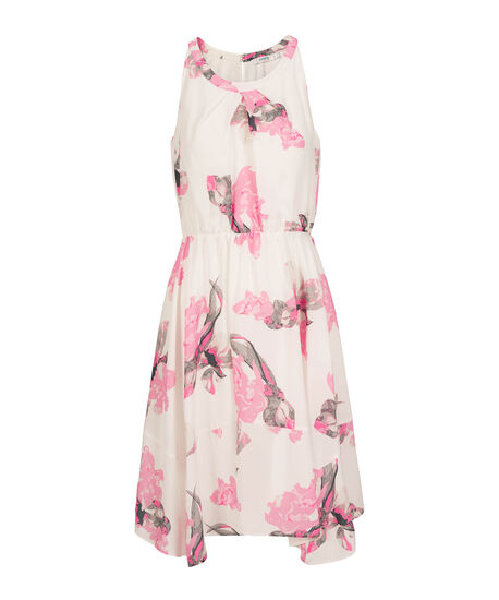 Sleeveless Scoop Neck Floral Dress by Ricki's