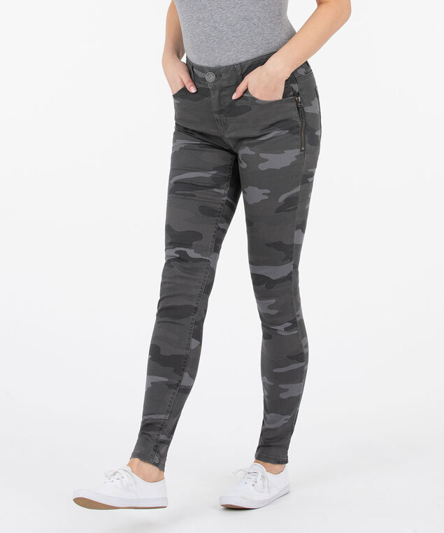 "Democracy ""AB""solution Camo Jegging - Short/Long, Charcoal/Light Grey/Dark Grey, hi-res"